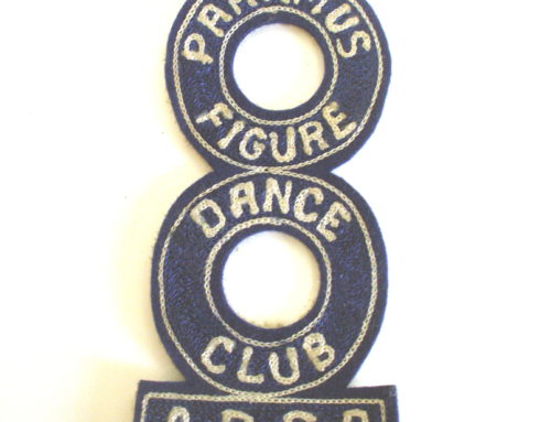 PARAMUS ROLLER SKATING RINK DANCE CLUB PATCH