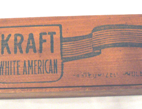 KRAFT CHEESE BOX