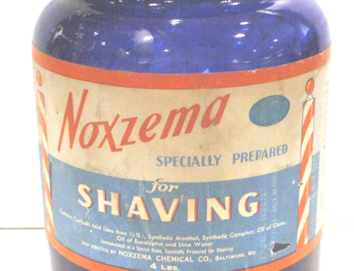 NOXEMA SHAVING CREAM